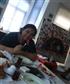 breakfast to a friends studio
