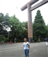with formidable torii