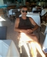 At a Paleocastrizza beach restaurant-Corfu island.