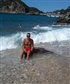 Ayia Triada(Holy Trinity)beach,Corfu island.