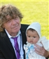Me and my youngest grandchild baptist in 2015 in Norway