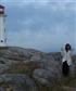 Peggys Cove light house Nova Scotia