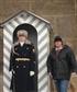 Standing guard in Prague