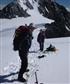 Austria last year preparing to cross a snow field strewn with crevasses