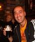 Drinking a beer in Dublin