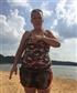 At the lake when my sister in law decides she needs a pic...lol
