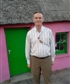 Me at village cottage in county clare .