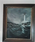 A lighthouse I painted back in 2007 Took up oil painting 1983 in the wet on wet technique