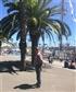 Enjoying the sunshine in Barcelona