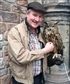 With an Eagle Owl in Edinburgh June 2017