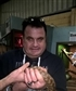 Holding a snake at Armadale reptile park