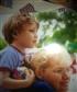 Me and my son at a parade