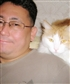And this is my unofficial photo this is me and my cat Jacob my best friend He was very smart cat