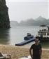 At halong bay