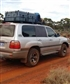 away prospecting for gold in west australian outback