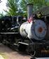 Train in Virginia city Montana