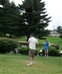 Golfing...