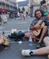 playing with street musicians in Brussel 28 august 2016