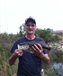 This is me pulling Bass from the dam.