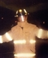 This is me in my turnout gear or as some know it firefighter gear.
