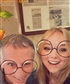Me and granddaughter on 72 birthday, think wrinkles have been edited out!!