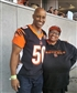 Me and my brother at a Cincinnati Bengals game!