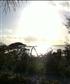 Sunset on Hundranfushi Island.