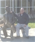 I am chilling out with Abe Lincoln - even at his protest