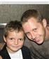 MY nephew and I at his heart kid's bravary award