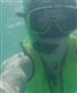 Under water lol