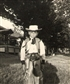 I always wanted to be a cowboy, Summer Camp, Monticello, New York 1947