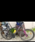 Muddy bike after 50k VTT rando