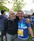 End of 10k run my amazing friend bob