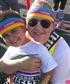 Color Run w/ my nephew Kai