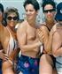 Many many moons ago with strangers at Club Med