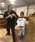 One of my Students after his Orange belt test
