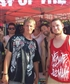 Me and my cousin meeting Story Of The Year at Warped tour