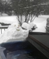After blizzard Made Snow man to keep my dad company And someday Galina
