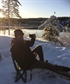 Coffee in Norwegian nature winter time Just loving it