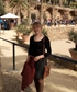 I am dressed warmly for Park Guell