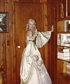 French court gown photo taken in my library No way I could fit in it today Weigh is the same but it has shifted Photo is aro