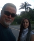 WALKING WITH MY DAUGHTER STEPHANIE NEAR OUR CABIN IN THE LAST MONTH 2020