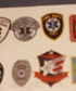 These are patches i wore as a firefighter and as an Emergency Medical Technician The Clover Fire Volunteer Department patch