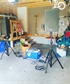 Turning my garage into a mini studio little gig for the girls