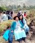 with my grand mother in Huayllabamba mi preciosa abuelita en Huayllabamba