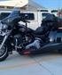 My Harley trike Hop on its safe