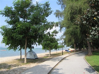 Changi Beach, Singapore