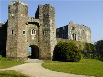 Berry Pomeroy Castle, Totness