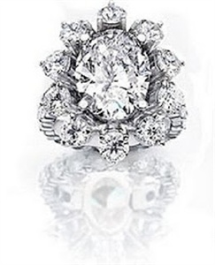 House of Taylor's Oval Diamond Ring – $1.3 million