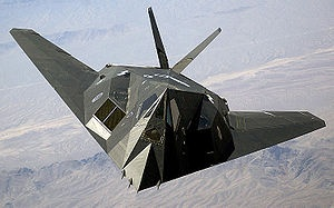 The Lockheed F-117a 'Stealth' Fighter